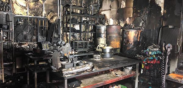 laboratorio di Ashkelon incendiato